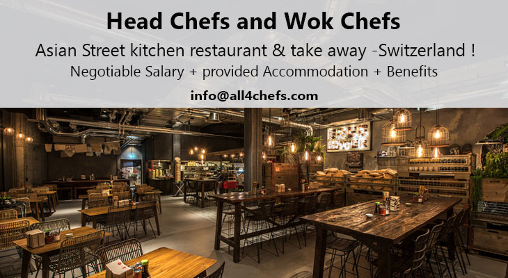 All4Chefs.com recruiting Asian Head Chefs and Wok Chefs