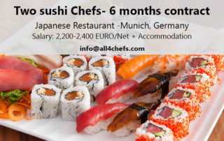 All4Chefs Sushi Chef Jobs